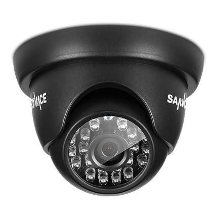 SANNCE® 2 x 1.0MP Cámaras Domo De vigilancia De Alta Resolución De Seguridad ,
