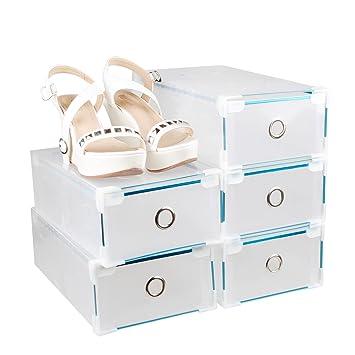 Apilable Botas Box Set 5 x/10 x Zapatos Cajas Buzón Zapatos cartón caja cajas