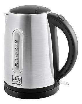 Melitta Prime Aqua (1018-02) -Hervidor de Agua. Acero Inoxidable. 1.7 litros Capacidad, 2200 W, plata