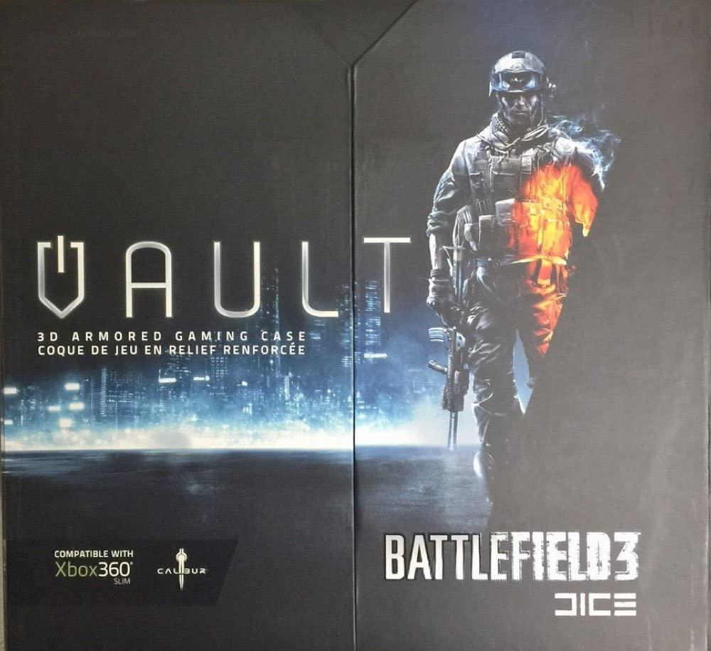 Calibur Battlefield 3 Vault 3D Armored Gaming Case for Xbox Slim