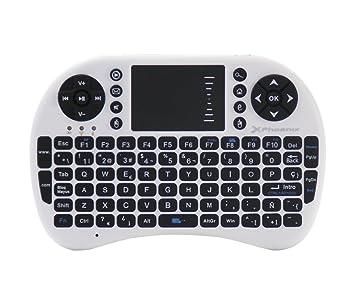 Phoenix PHTALKKEYBOARD+ - Mini Teclado inalámbrico con TouchPad: Amazon.es: Informática
