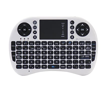 Phoenix PHTALKKEYBOARD+ - Mini Teclado inalámbrico con TouchPad