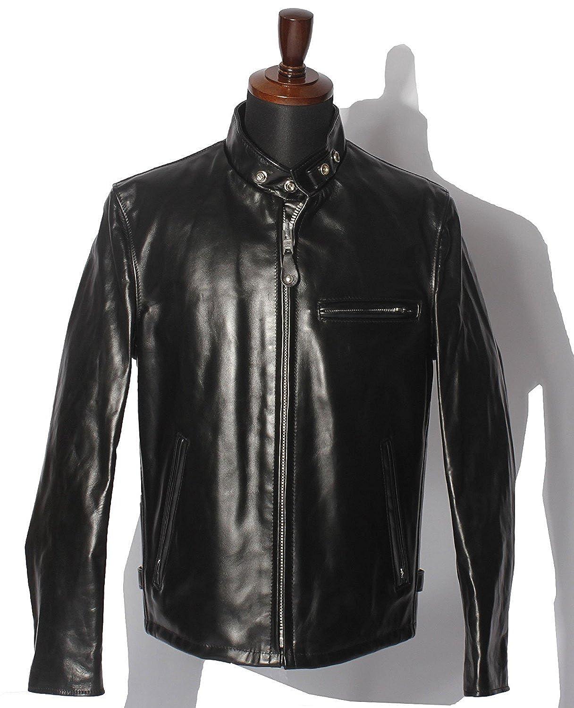 Schott (ショット) 641HH RIDERS Horse leather B01FXDTFWW  ブラック 46(3XL)