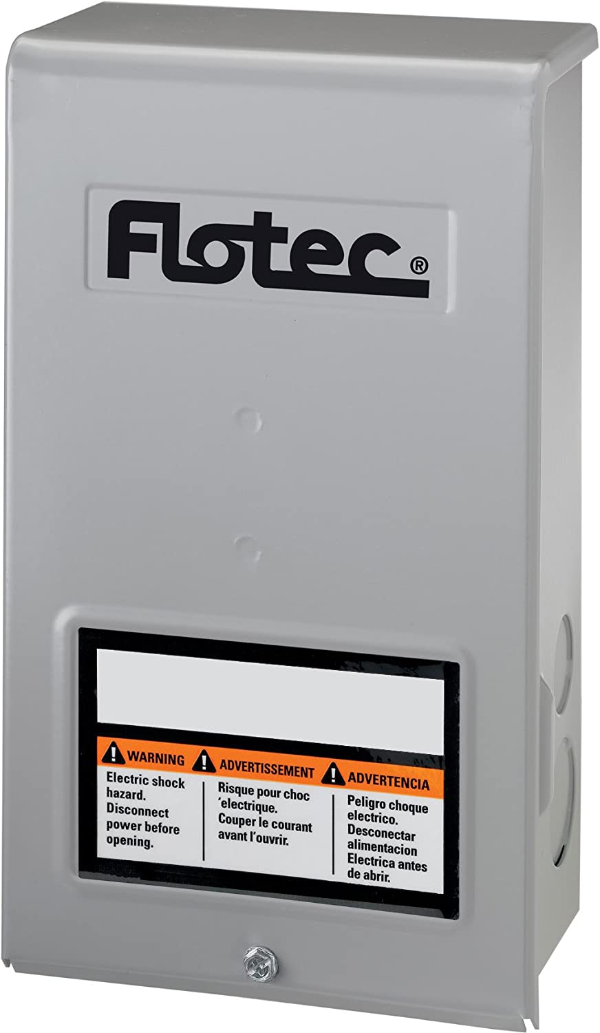 Flotec FP217-810 Parts2O Pentek Heavy Duty Submersible Well Pump Control Box, 230 V, 1/2 Hp, No 4