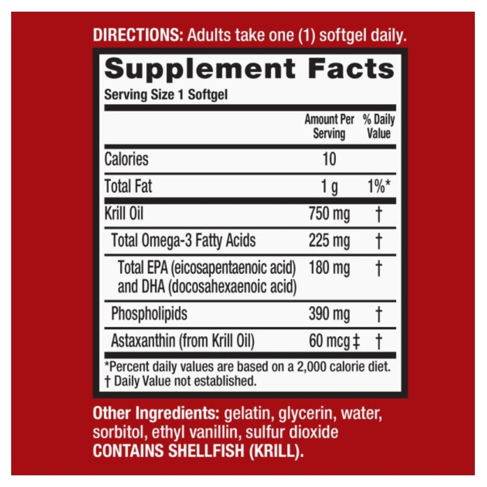 MegaRed Ultra Concentration Omega Krill Oil 750mg, 40 ct (Pack of 10) by Schiff (Image #7)
