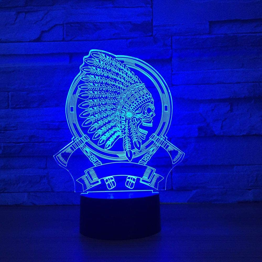 La lámpara de Escritorio Principal para el hogar, la luz Nocturna táctil Multicolor, es Adecuada para un Tipo de lámpara de Cambio de Color, Regalo de Amigo Amigo, decoración del hogar