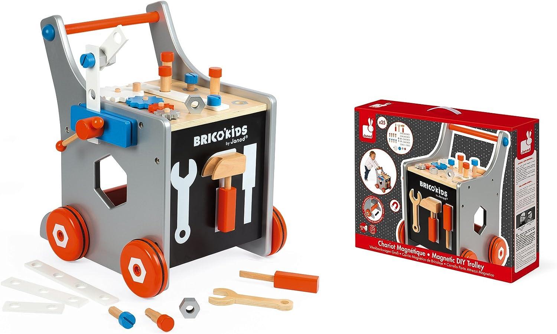 Janod MINI Storia Cavalieri in Legno Toy Box Set Bambino//Bambino Figure BN