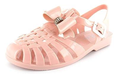 dd4638fa4fad Ella Shoes Retro Jelly Sandals Ladies Womens Girls Summer Beach Flat FLIP  Flops Sizes 3-