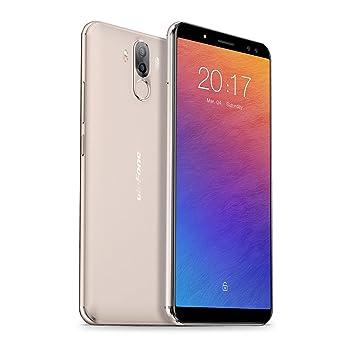 Ulefone Power 3S - Smartphone Teléfono Móvil Libre, 6.0 FHD+ 2160 * 1080, Android 7.1, 4GB+64GB, Batería 6350mAh, Cámara de 13+5MP/8+5MP, MTKMT6763 ...