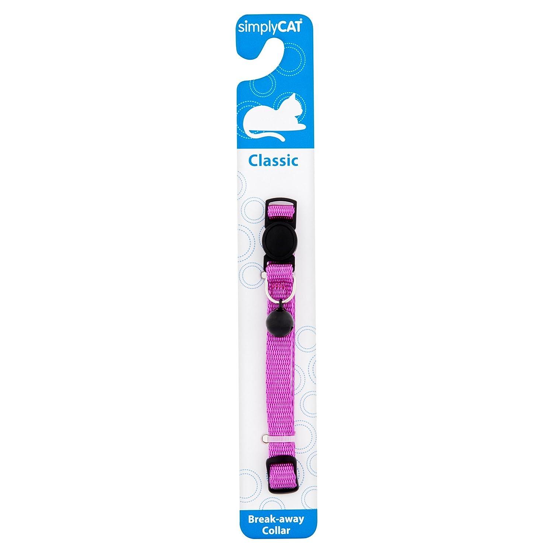 Simply Cat Classic Purple Basic Collar