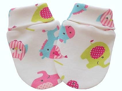 100% algodón bebé recién nacido anti arañazos manoplas guantes Multi ...