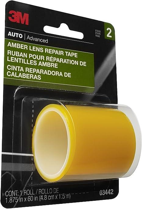 Amazon.com: 3M 03442 - Cinta de reparación de lentes ámbar ...