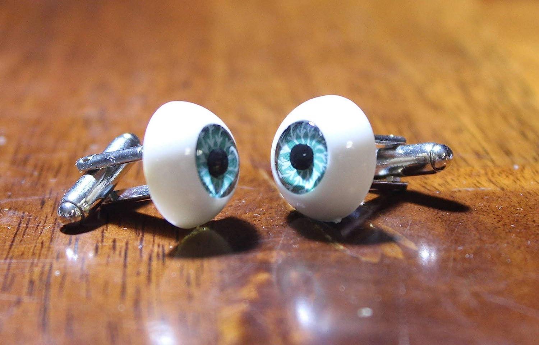 Eye Ball Cufflinks eye doctor cuff links optometry cufflinks Halloween Novelty Accessories