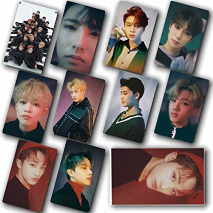 Nuofeng - Kpop NCT EMPATHY Lomo Cards NCT127 NCT Dream Photocard Sticker  Cards Set for NCT Fans(F-10pcs-1)