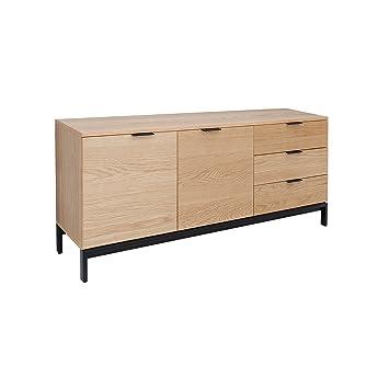 Riess Ambiente Design Sideboard Modern Nature 160cm Eiche Retro Stil