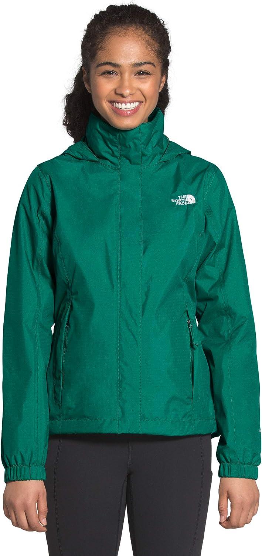 The North Face Women's Resolve 2 DWR Waterproof Hooded Rain Jacket