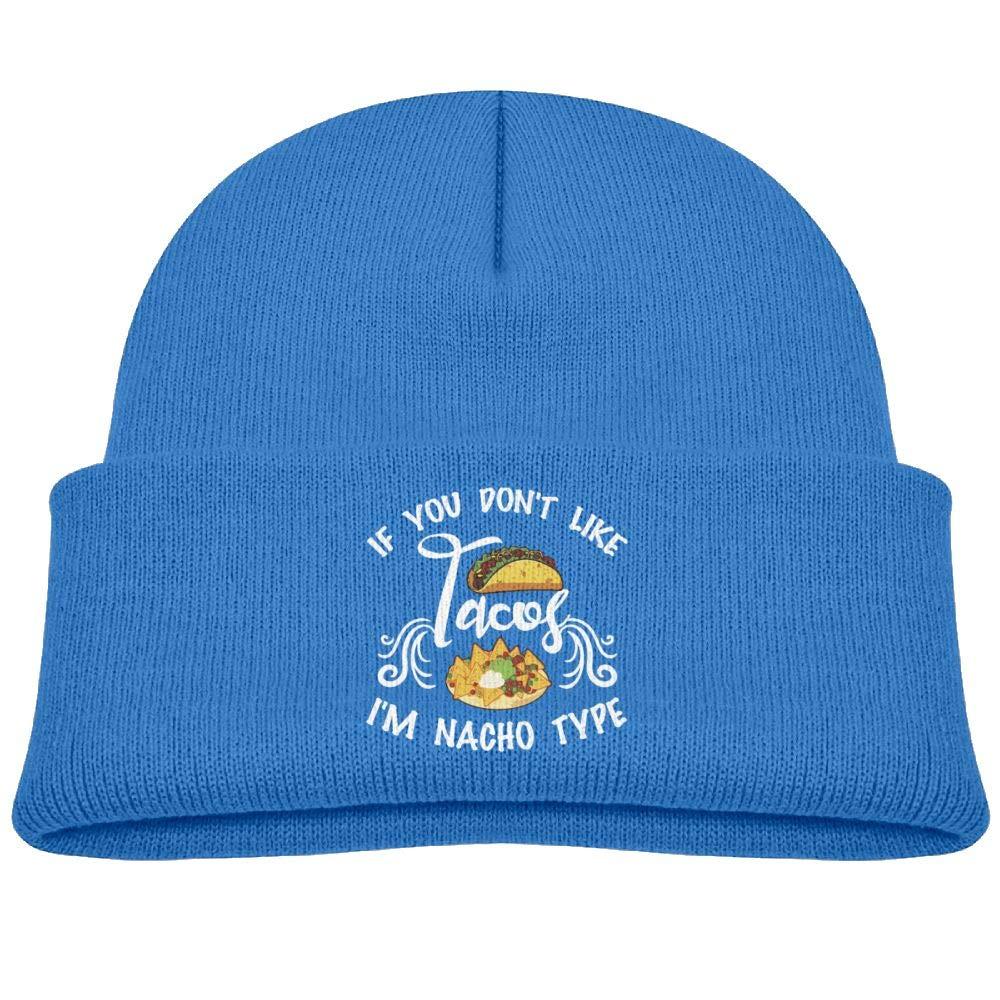 Hanfjj Kefdk If You Don T Like Tacos Im Nacho Type Infant Knit Hats Baby Girl Beanies Caps