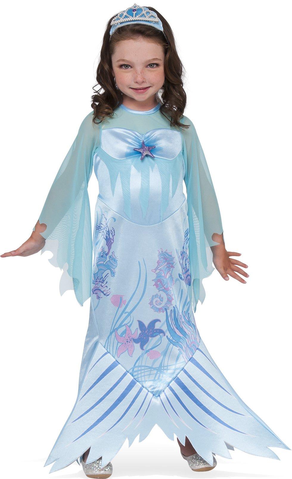 Rubies Costume Child's Mystical Mermaid Costume, Medium, Multicolor