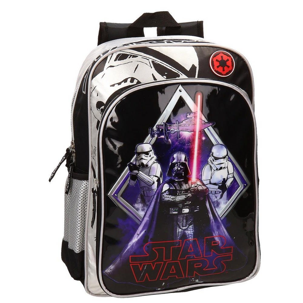 Star Wars Darth Vader Mochila Adaptable a Carro Color Negro