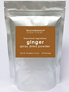 Ginger Powder | Functional Ingredients | Spray Dried | 100% Water Soluble | Vegan Food | Gluten Free | Non-GMO | Chemical Free
