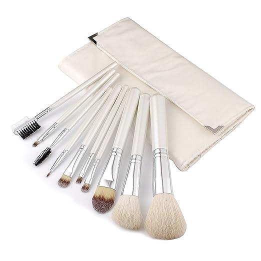 50 opinioni per JZK® Alta qualità set di 10 pennelli pennello trucco cosmetici make up