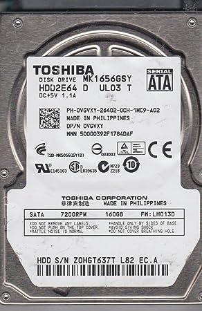 New-160GB 7200RPM 2.5 SATA HD MK1656GSY