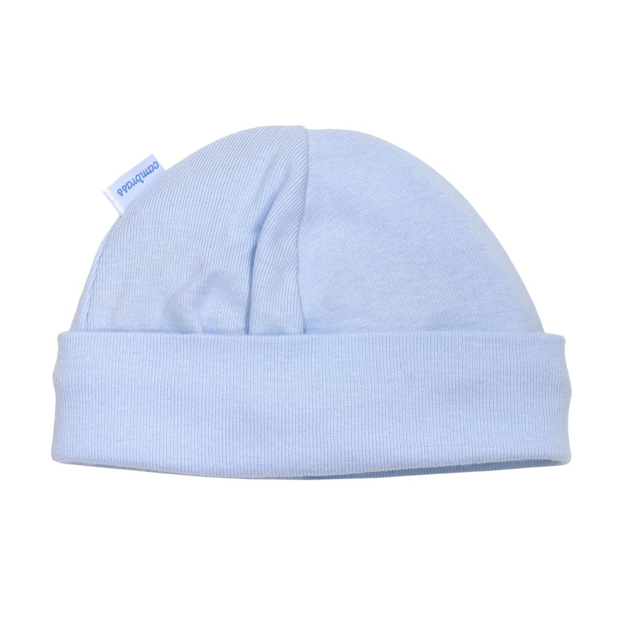 Cambrass Tricot Cotton Cap (White, 1-3 Months)