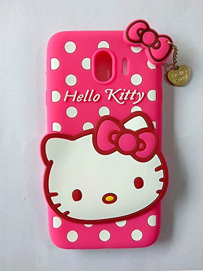 dfa6fd3a0 Vinnx Hello Kitty Back Cover for Samsung Galaxy J4: Amazon.in: Electronics