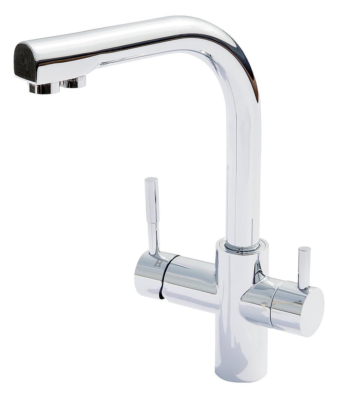 Carbonit Wasserhahn WS7 I Edelstahl Küchenarmatur für Wasserfilter ...