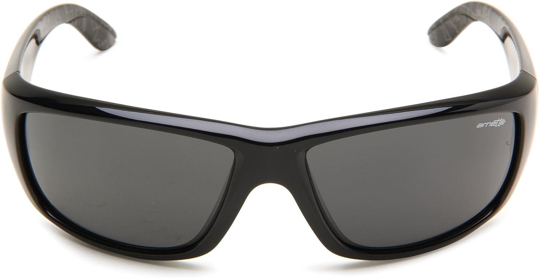 Arnette Lunettes de Soleil pour Homme Cheat en tôle Noir (Black/Gray)