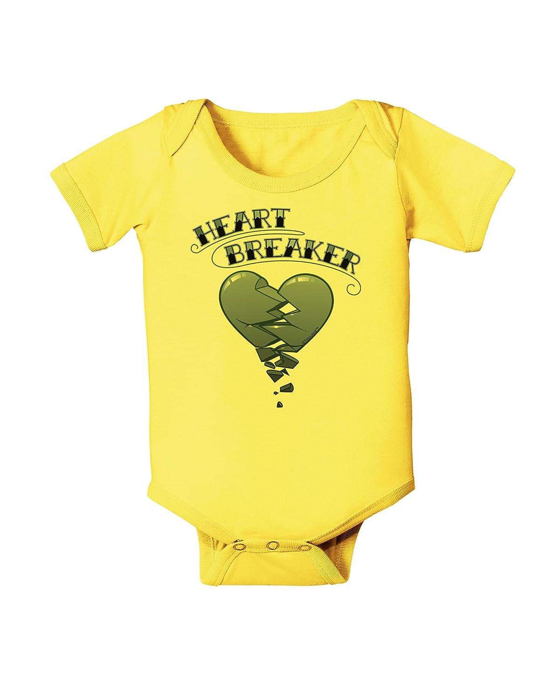 TooLoud Heart Breaker Manly Baby Romper Bodysuit