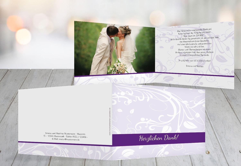 Kartenparadies Danksagung für Hochzeitsgeschenke Hochzeitsgeschenke Hochzeitsgeschenke Hochzeit Dankeskarte Blättertraum, hochwertige Danksagungskarte Hochzeitsglückwünsche inklusive Umschläge   10 Karten - (Format  148x105 mm) Farbe  WeinRot B01N13HO9S | Geeignet für 553199