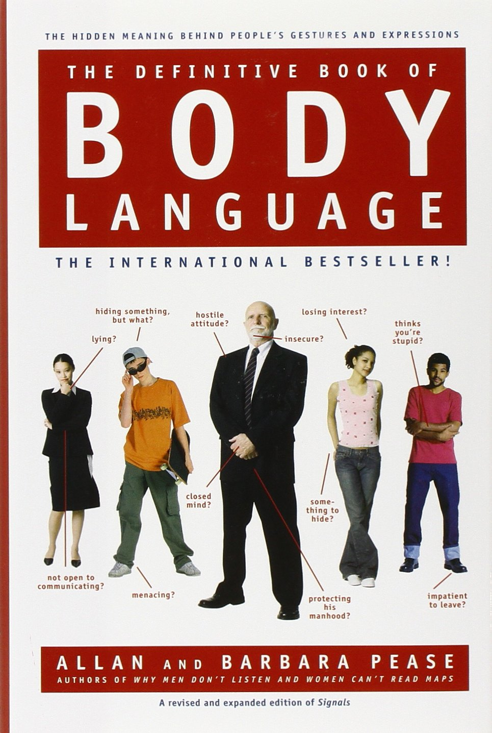 Amazon com the definitive book of body language the hidden meaning behind people s gestures and expressions 9780553804720 barbara pease allan pease