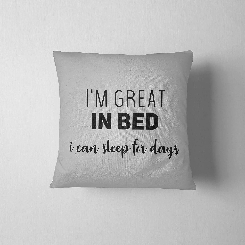 Amazon Com I M Great In Bed Guest Room Ideas Tumblr Room Decor Mint And Grey Decor Spa Decor Dorm Room Decor Apartment Decoration Handmade
