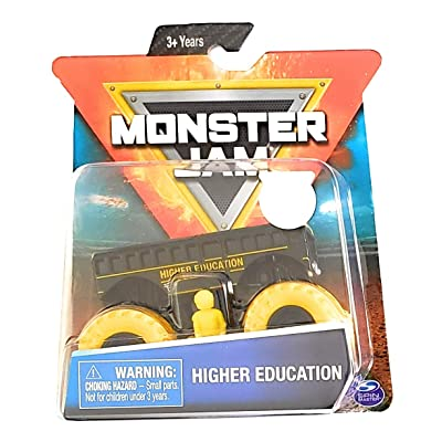 Monster Jam Higher Education: Toys & Games