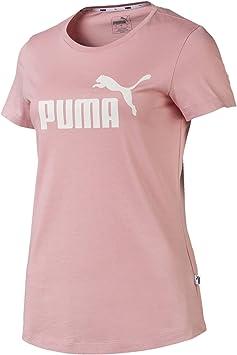 PUMA Damen ESS Logo Tee T Shirt: Puma: : Bekleidung