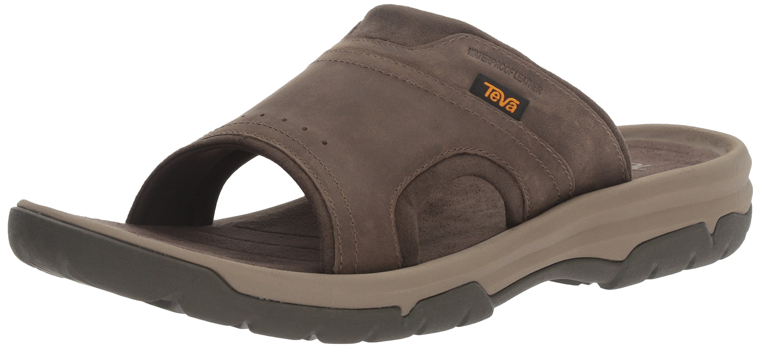 Teva Men's M Langdon Slide Sandal, Walnut, 11 M US by Teva