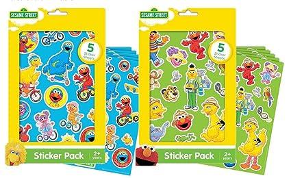 Sesame Street Sticker Packs