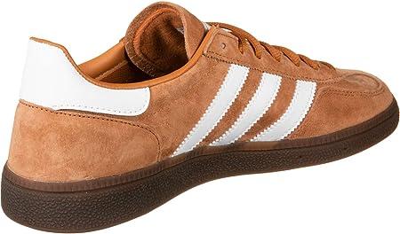 adidas Originals Handball Spezial, Tech Copper-Cloud White-Gold Metallic, 3,5
