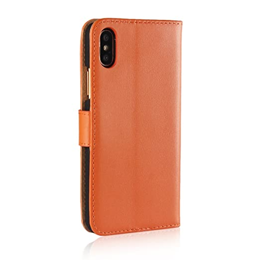 Amazon Com For Iphone Xs Max 6 5 2018 Phone Case Flip Leather