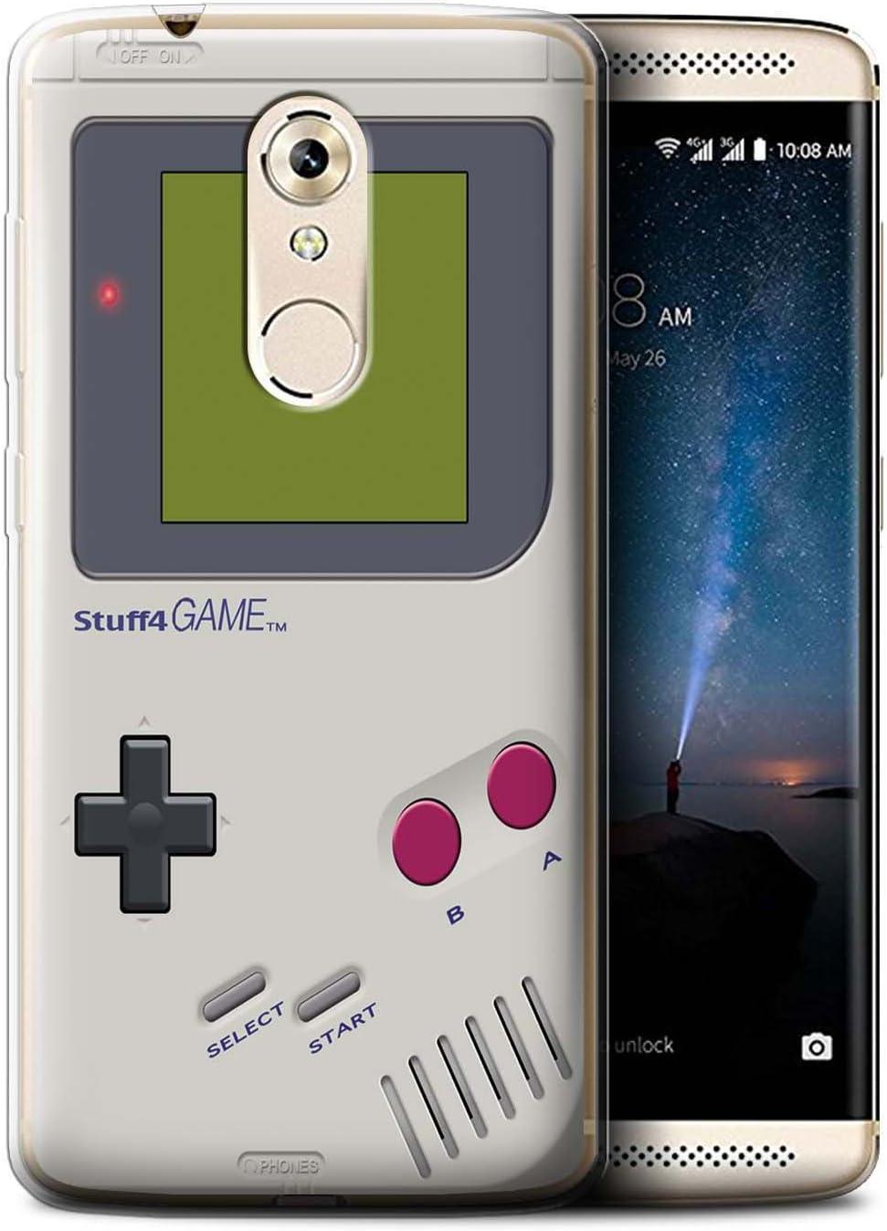 Stuff4 - Funda para teléfono móvil (colección de videoconsolas) Nintendo Game Boy ZTE Axon 7 Mini