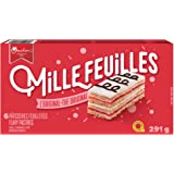 VACHON Mille Feuilles The Original Flaky Pastries, Contains 6 Flaky Pastries, Individually Wrapped, 291 Gram