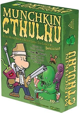 Raven Munchkin Cthulhu - Juego de Mesa (Contenido en Italiano): Raven Distribution: Amazon.es: Juguetes y juegos