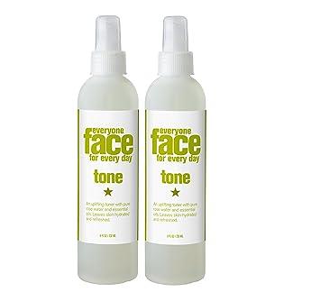 Everyone Tone, Face Toner Skincare, Rose Water & Pure Essential Oils, 8 Oz Clinique Acne Solutions Acne/Line Correcting Serum