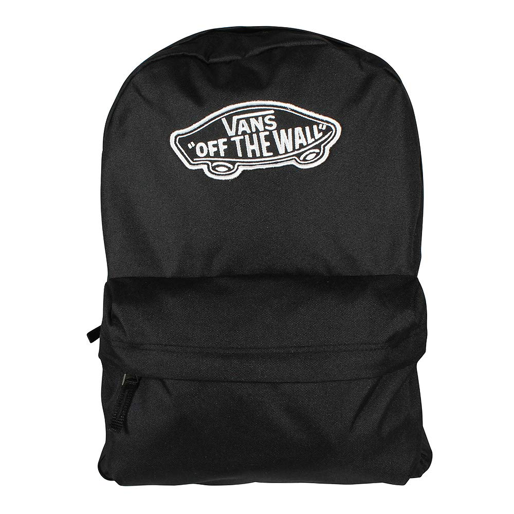 Vans Realm Backpack Mochila Tipo Casual, 42 cm, 22 Liters, Negro (Black