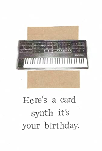Amazon Synth Its Your Birthday Funny Electronic Music Humor