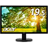Acer モニター ディスプレイ K202HQLAbmix 19.5インチ/HDMI端子対応/スピーカー内蔵