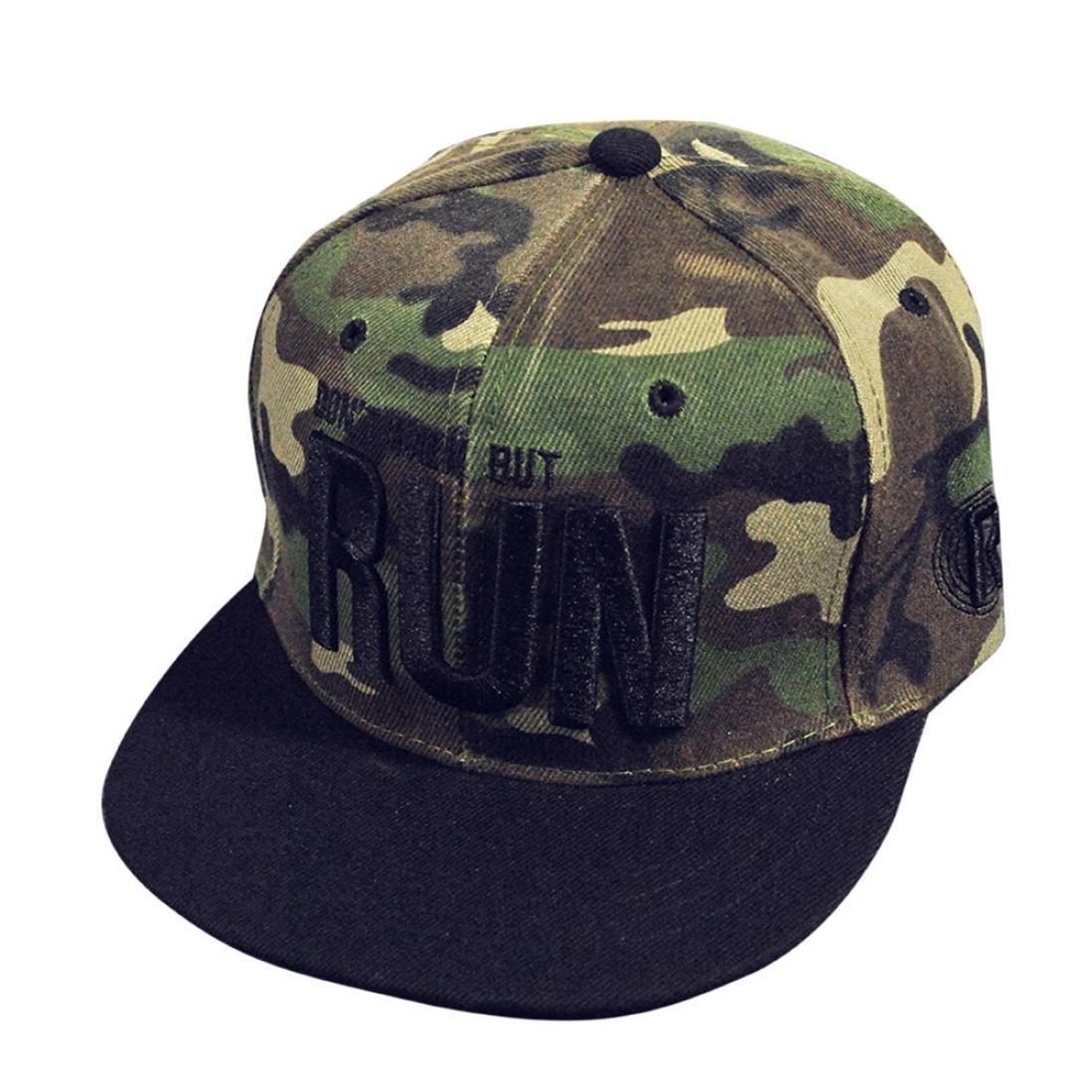 Amlaiworld Hiphop cappello, Moda ricamo Snapback Boy Hiphop cappello regolabile Baseball Cap Unisex
