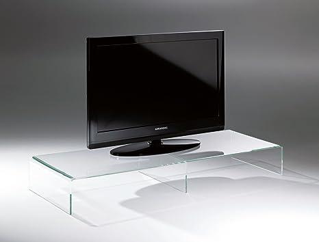 Tavolini In Vetro Porta Tv : Howe deko design tavolino per la tv porta tv di vetro acrilico di