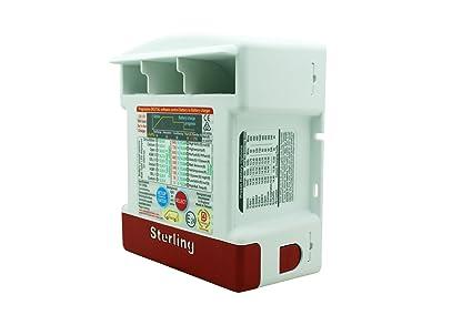 amazon com sterling bb1260 12 volt, 60 amps pro batt ultrasterling bb1260 12 volt, 60 amps pro batt ultra battery to battery charger